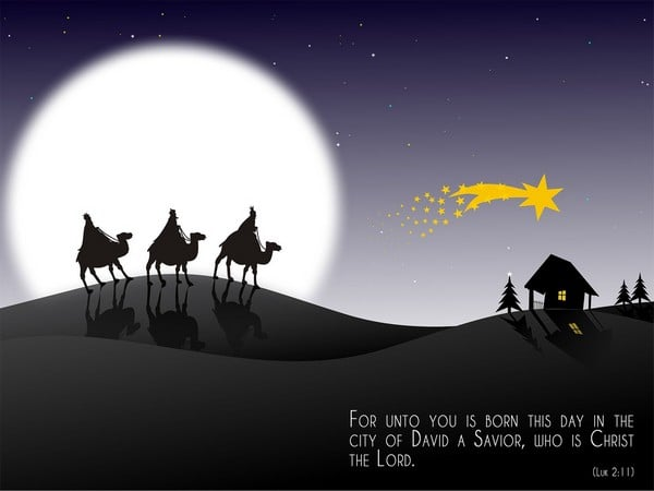 christmas greetings, god bless