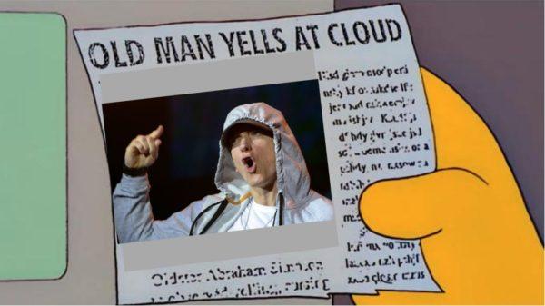 eminem old man yells at cloud