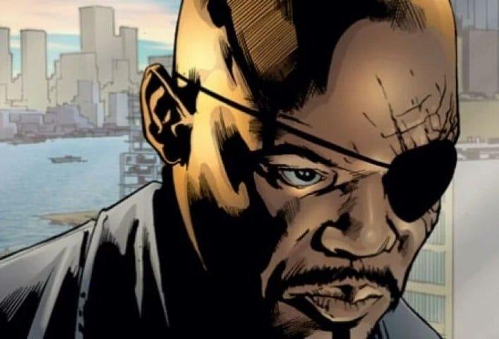 Nick Fury Samuel L Jackson Black Superheroes