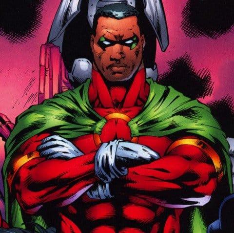 icon black superheroes