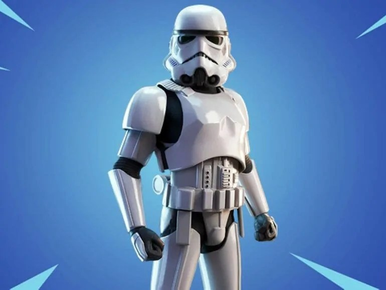 star wars stormtrooper fortnite skin