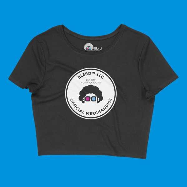 Blerd™ Official Merchandise Women's Crop Top