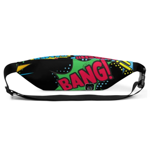 Blerd Comic Pop Art Fanny Pack 7