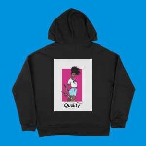 blerd quality unisex hoodie
