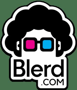 blerd logo sticker