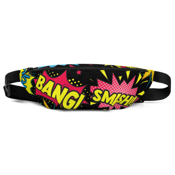 Blerd Comic Pop Art Fanny Pack 4