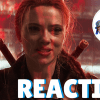 black widow trailer reaction