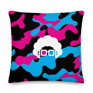 Blerd Camo Premium Pillow 4