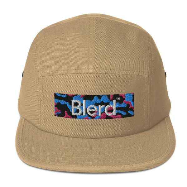 Blerd Camo Panel Cap