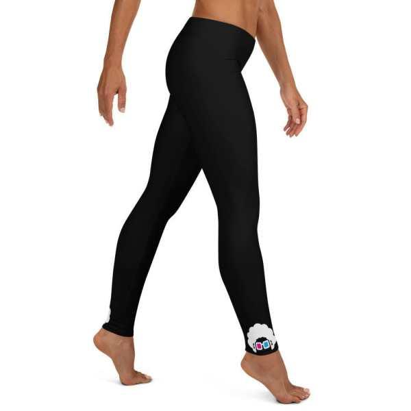 Blerd Classic Logo Leggings Right