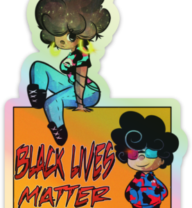Blerd X Artbook Johnson Black Lives Matter Sticker