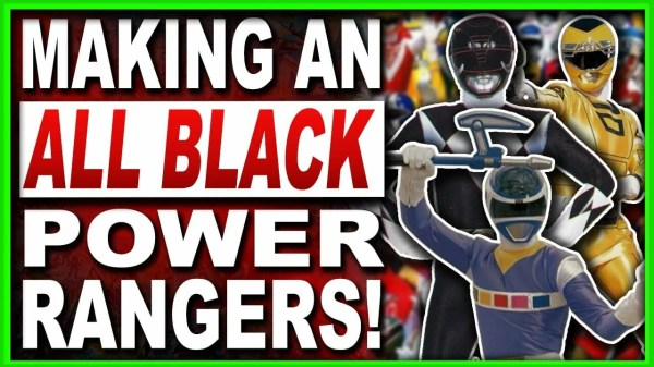 black power rangers