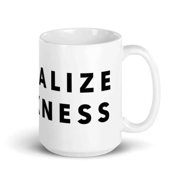 Normalize Blackness Mug Right Side