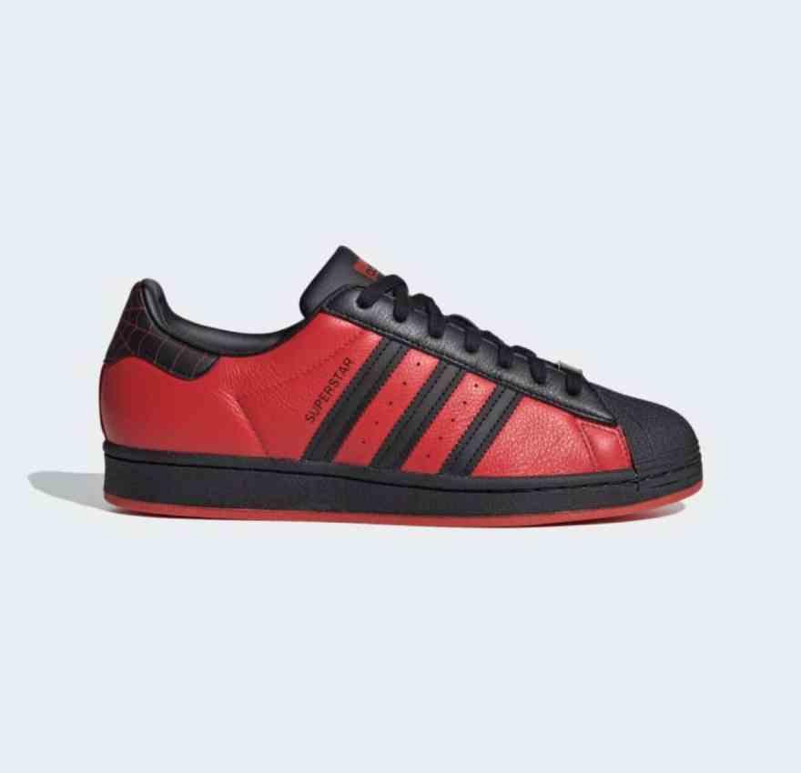 Adidas Spiderman Superstar Shoes 2