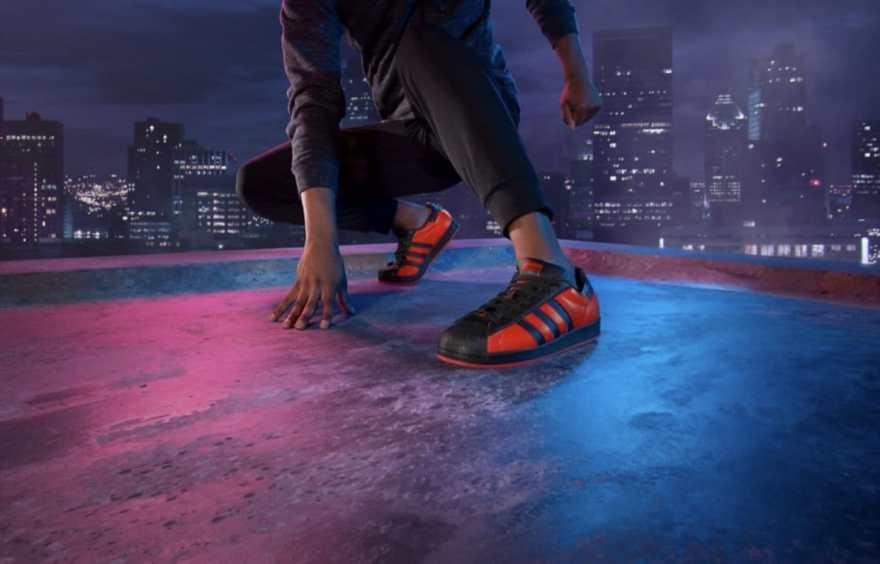 Adidas Spiderman Superstar Shoes 5