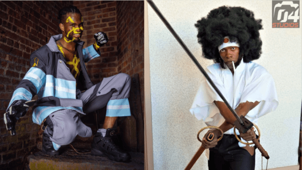 BLACK ANIME CHARACTERS TO COSPLAY