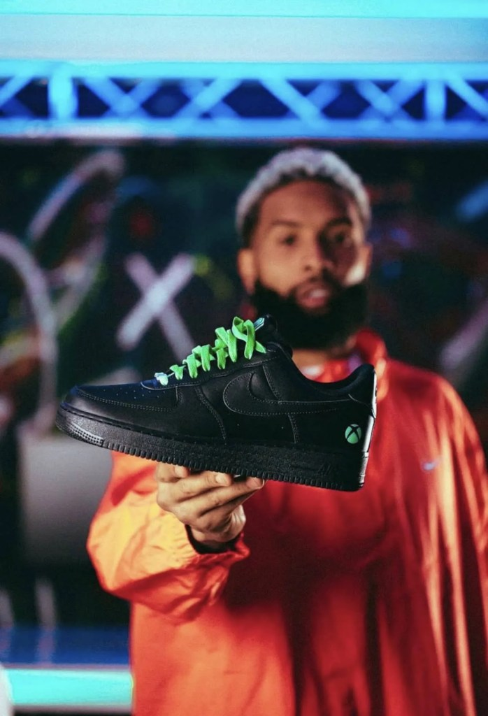 Odell Beckham Jr Xbox Nike Air Forces 2