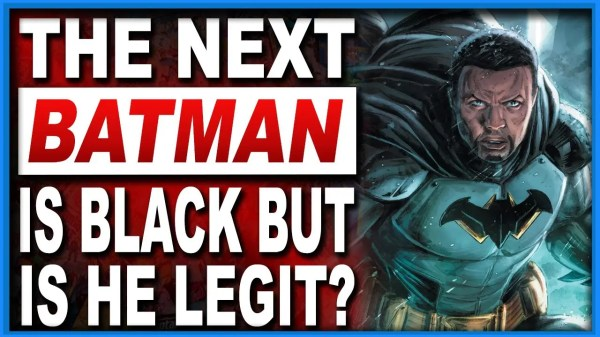 The Next Batman Is Black