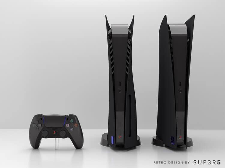 Black PS5