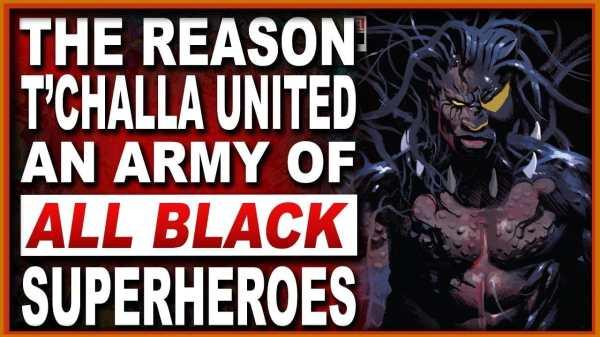 Black Panther #23 - Marvel's Black Superheroes unite