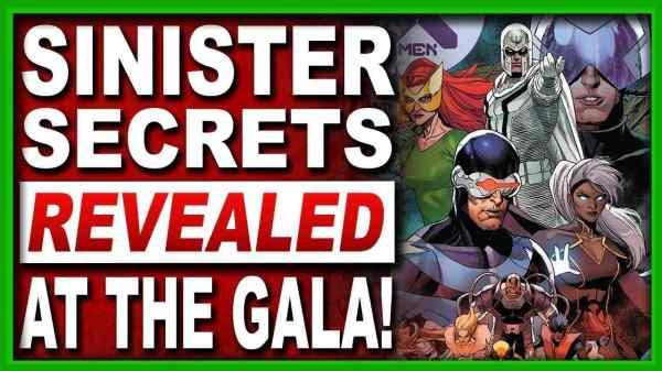 X-Men 21 The Hellfire Gala Reveals Sinister Secrets