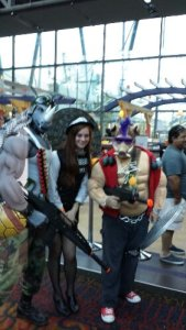 ACCC Bebop Rocksteady Cosplay
