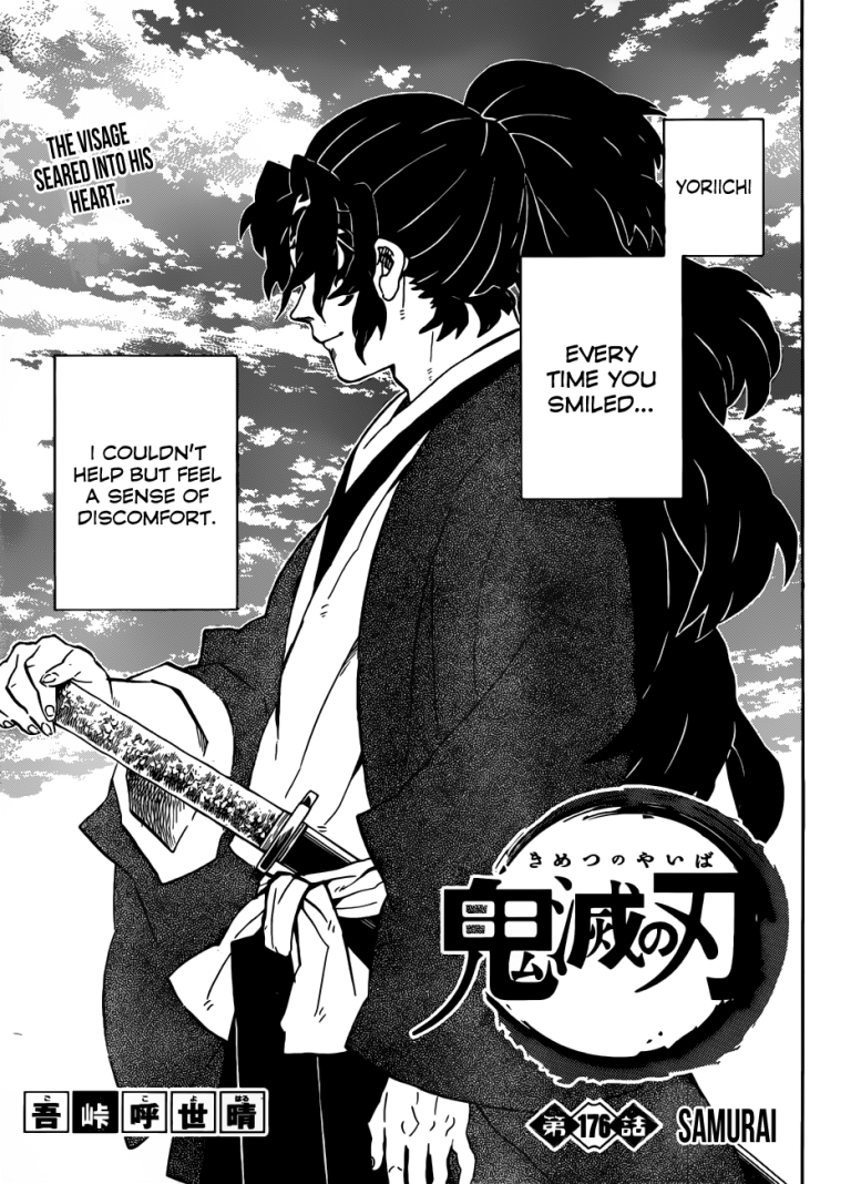 KnY Ch 176: Samurai