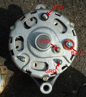 Generator to Alternator Conversion
