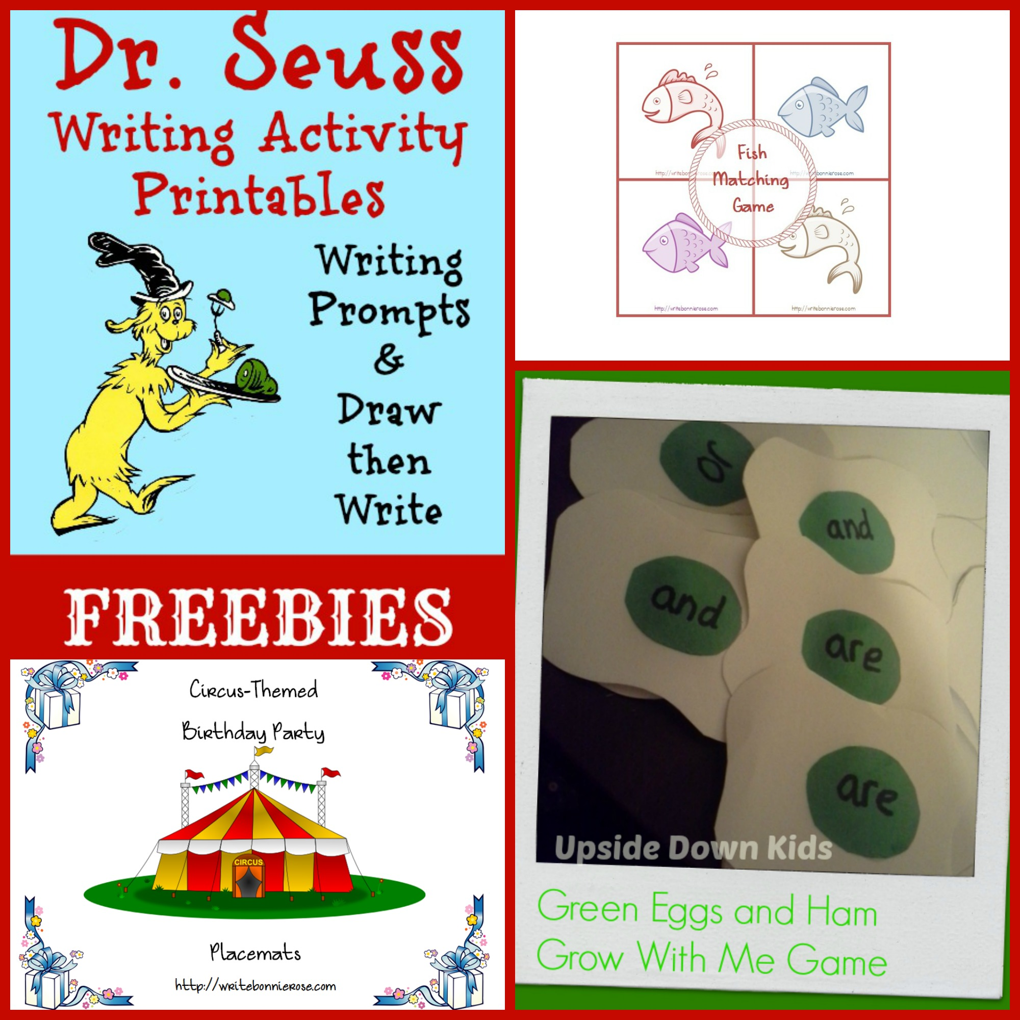 Happy Birthday Dr Seuss Teachable Timeline