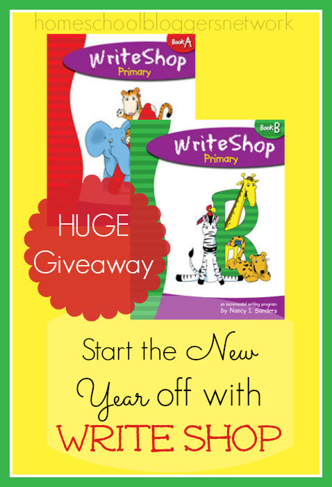 Write Shop is a FUN hands on writing program! Hurry and enter this generous giveaway!