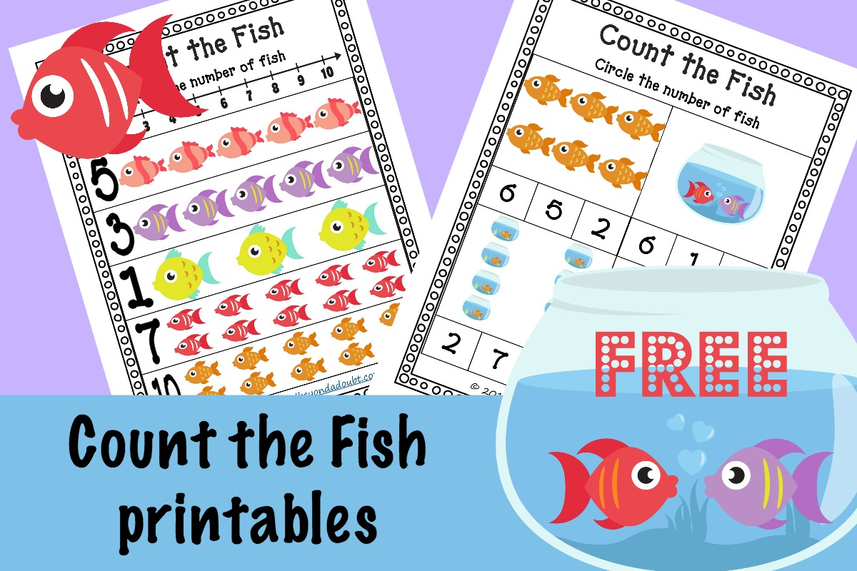 Free Count The Fish Counting Cards