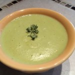 Creamy Asparagus Soup-Vegan and Gluten-free