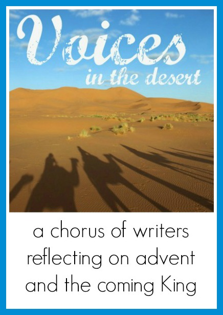 Voices in the Desert Advent Series: Day Two-A Child is Born