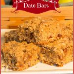 Scrumptious Date Bars