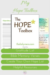 Depression toolbox kit