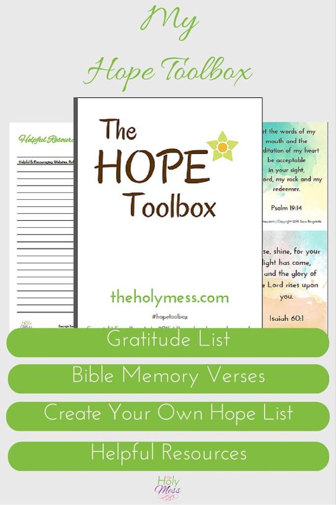 Depression toolbox kit
