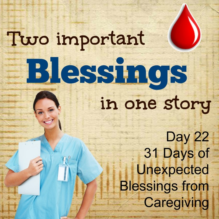 Huge blessings: Care and Life!