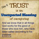 TRUST (in the middle of caregiving)