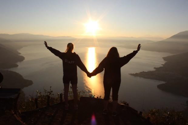 By trusting the Light and following carefully in the steps of our Guide, we CAN reach the top and experience victory!