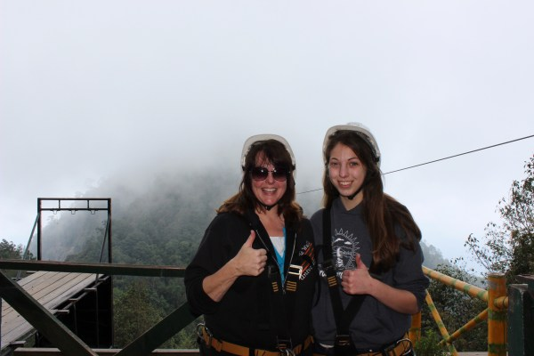 We took that step of faith to experience the amazing thrill of a zip line!