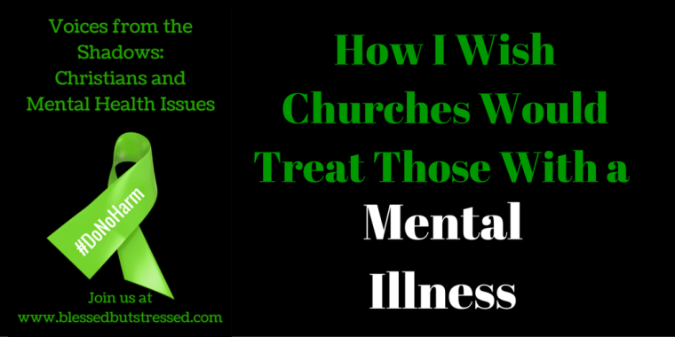 church would treat mental illness