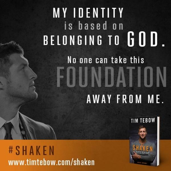 Tim Tebow's #Shaken