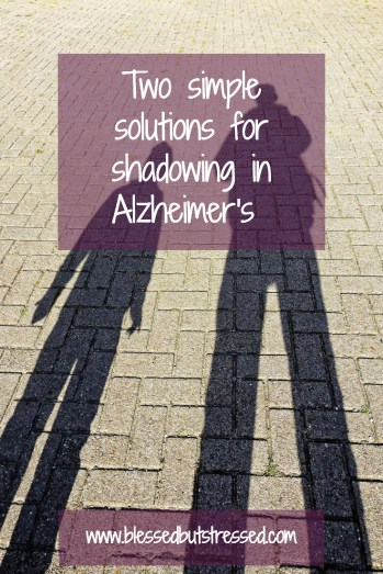 Caring for someone with Alzheimer's can be discouraging and frustrating--especially when you need a break. Try these two simple solutions to help your loved one through transition times.
