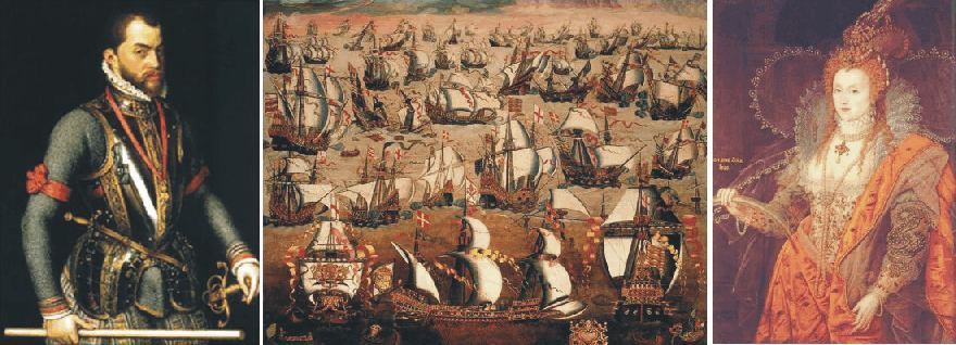 Image result for Against the Spanish Armada