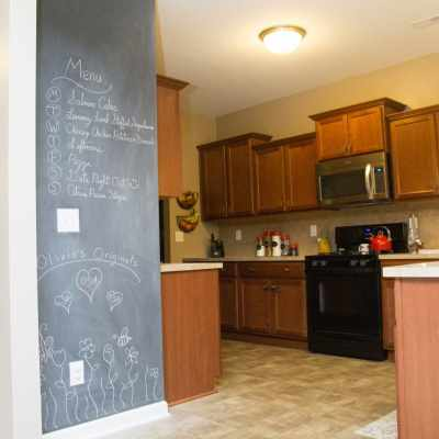 "DIY Chalkboard ""Hand Lettering"" Decal {Tutorial}"