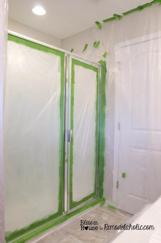 DIY Factory Window Shower Door | Bless'er House - The most epic builder grade home improvement project EVAH! So excited about this one.