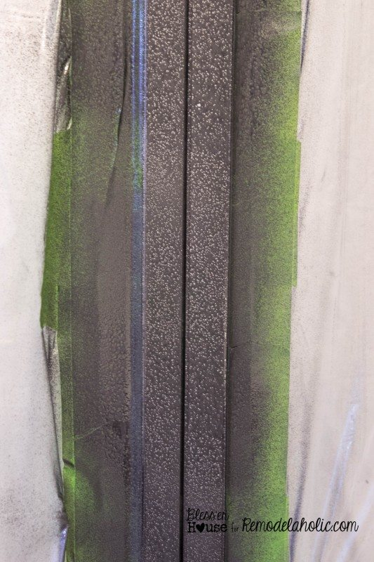 DIY industrial factory window shower door tutorial