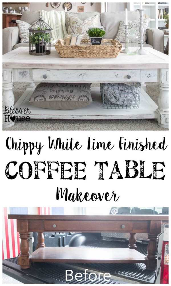 12 Goodwill Shopping Secrets Revealed | Bless'er House -- in this post, I gave a crappy coffee table from Goodwill the ultimate DIY makeover. It looks completely different and I love how it turned out!