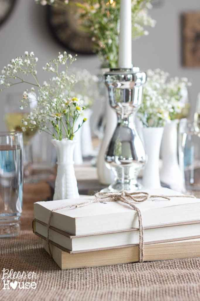 Thrifty $30 Spring to Summer Tablescape + 4 Tips to Create the Perfect Table Decor | Bless'er House