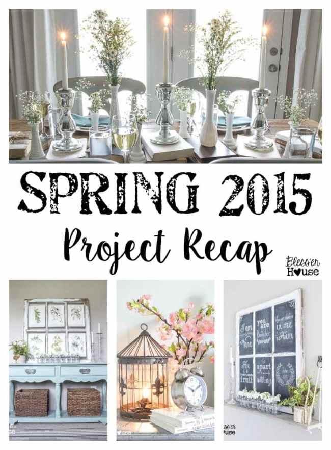 Spring 2015 Project Recap | Bless'er House